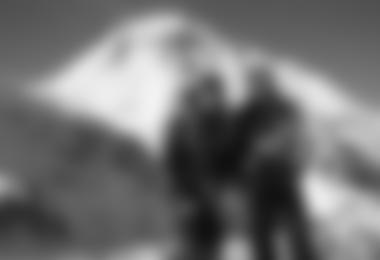 David und Gerlinde vor dem Dhaulagiri