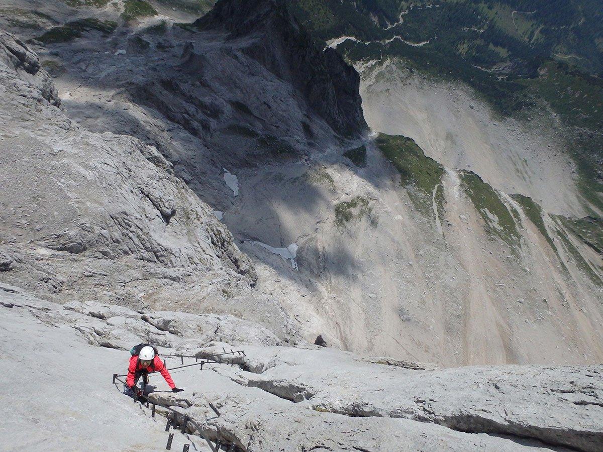 Klettersteig Johann Dachstein : Der johann klettersteig südwandklettersteig bergsteigen.com
