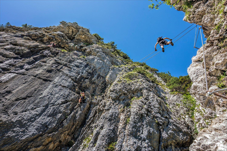 Klettersteig Klamml : Klamml klettersteig bergsteigen