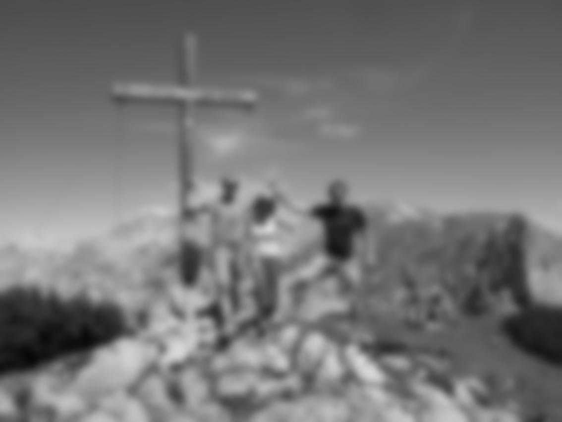 Der Gipfel des Traweng, 1981 m