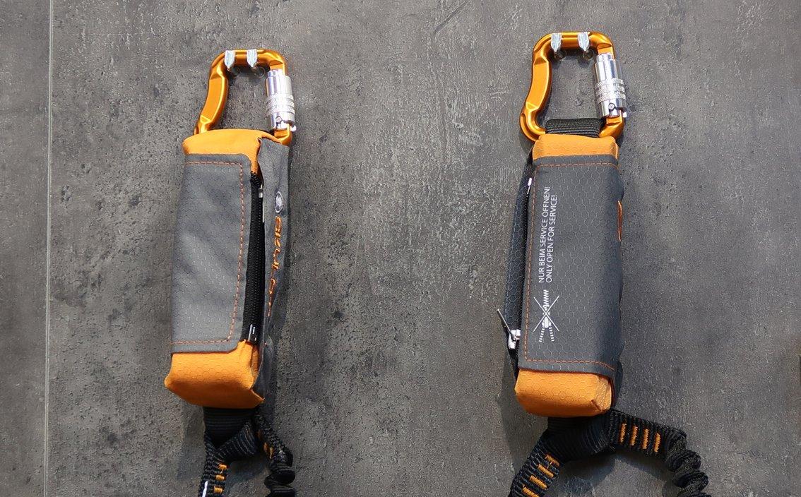 Klettersteigset Bandfalldämpfer : Klettersteigset online kaufen kaufberatung günstig