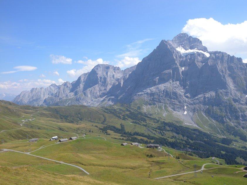 Klettersteig Schwarzhorn : Schwarzhorn klettersteig bergsteigen