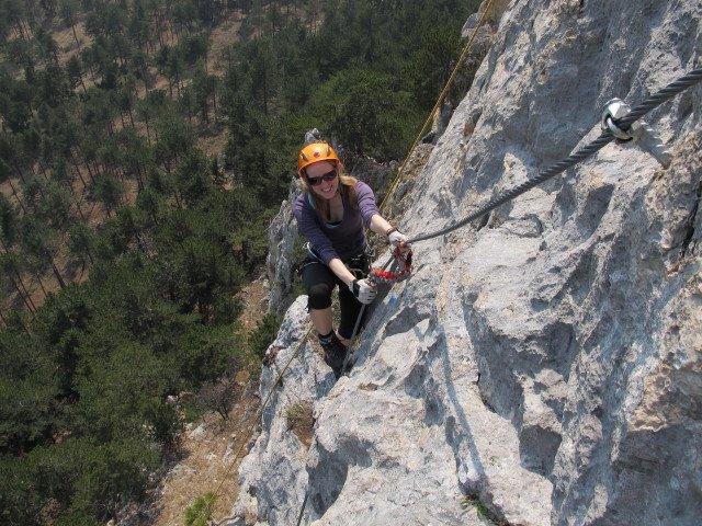 Klettersteig Gelbe Wand : Tegelberg finger und gelbe wand steig klettersteig
