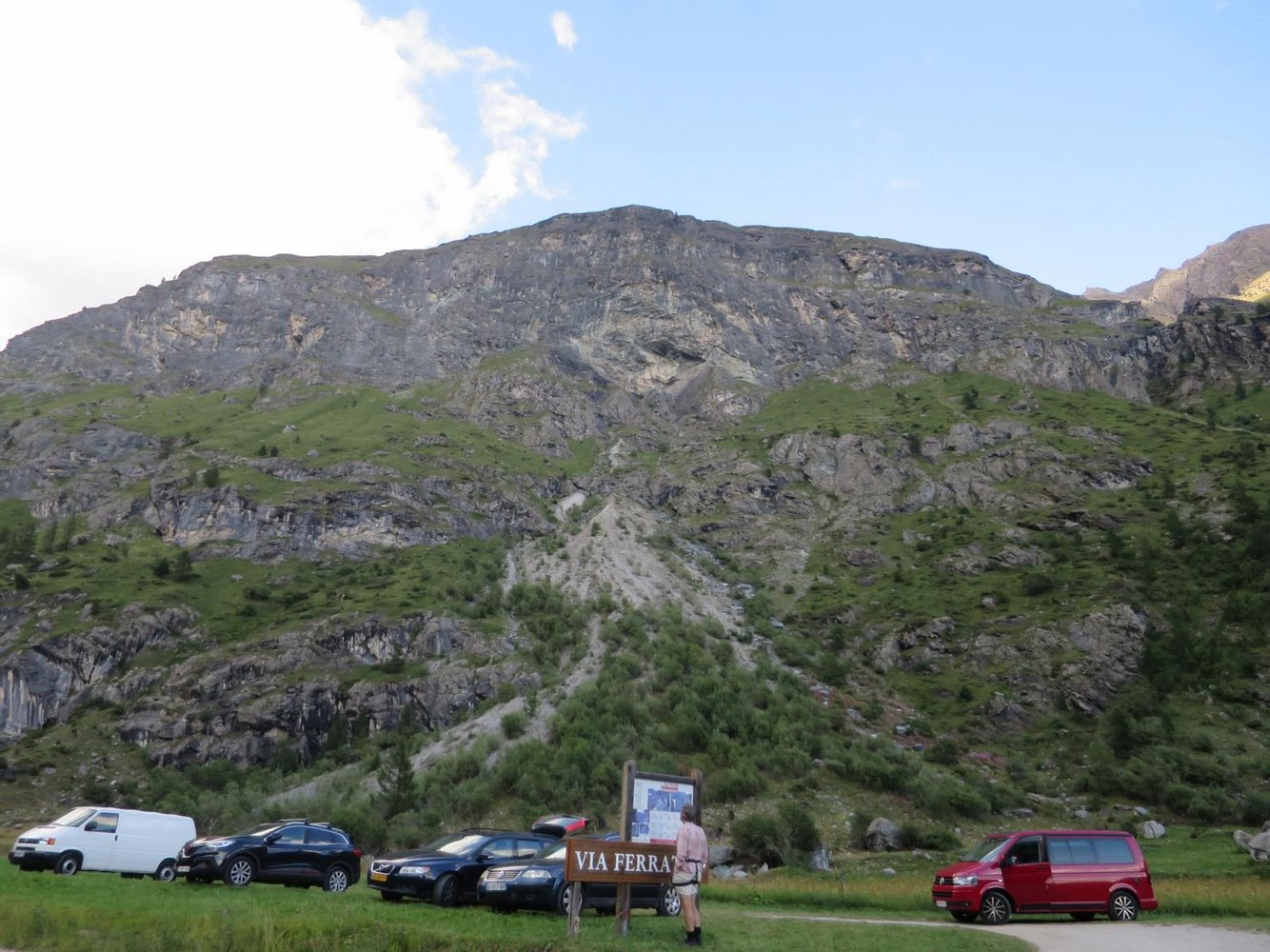 Klettersteig Lauterbrunnen : Via ferrata dandagne bergsteigen.com