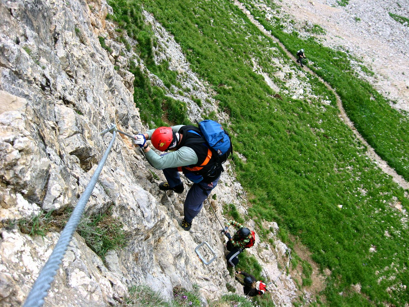 Klettersteig Achensee : Achensee gipfel klettersteig bergsteigen