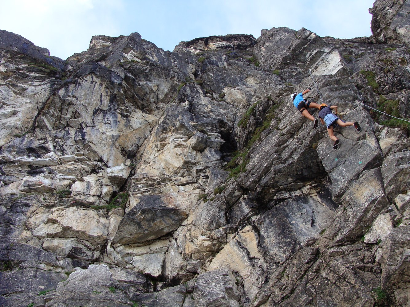Klettersteig Gerlossteinwand : Gerlossteinwand klettersteig klettersteige