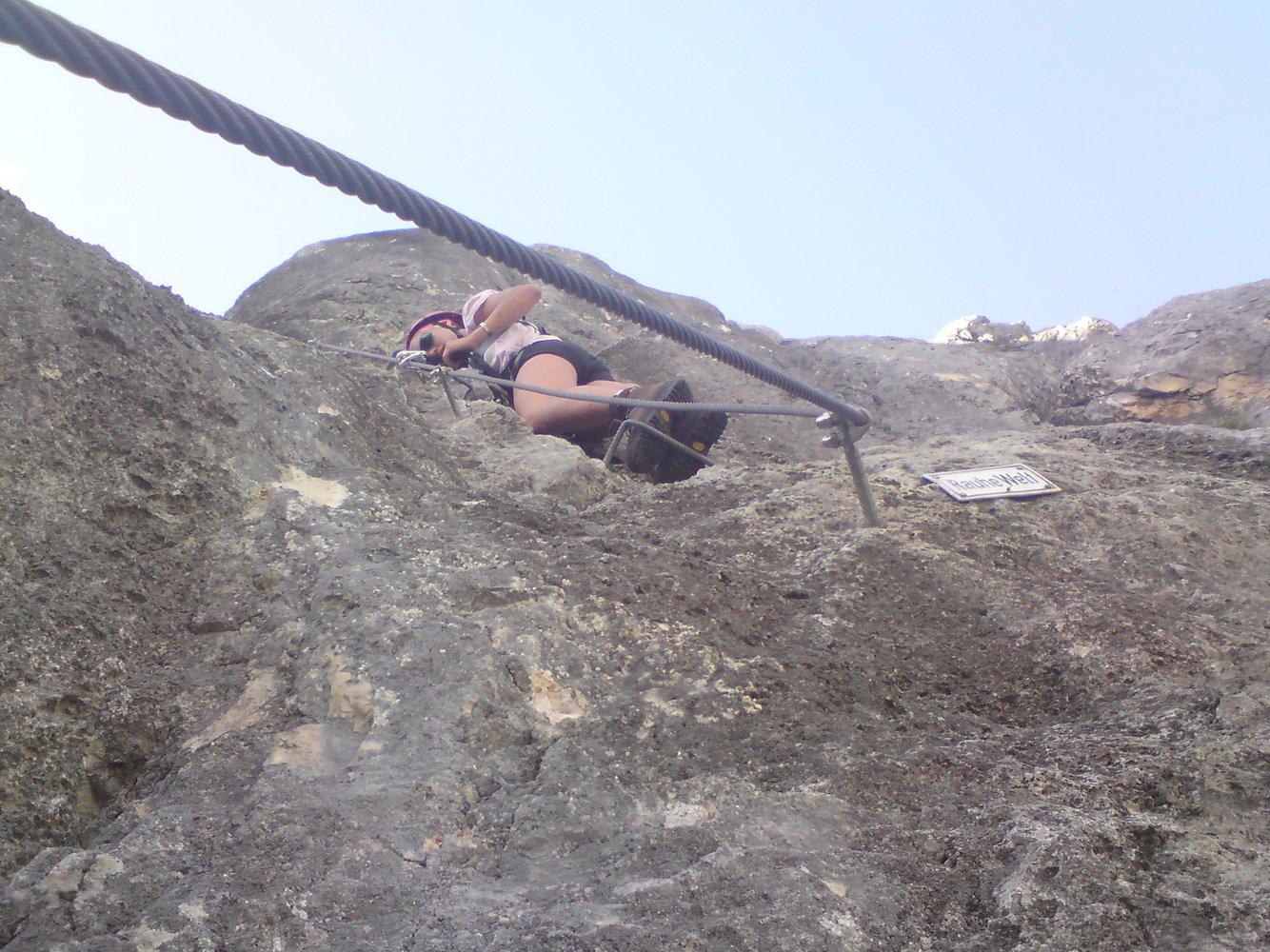 Klettersteig Hochthron : Berchtesgadener hochthronsteig hochthron klettersteig