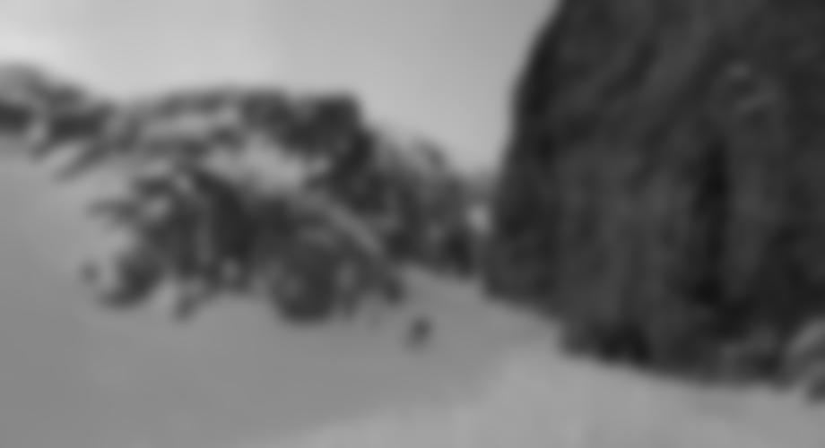 Ausfahrt aus dem Mini-Canyon