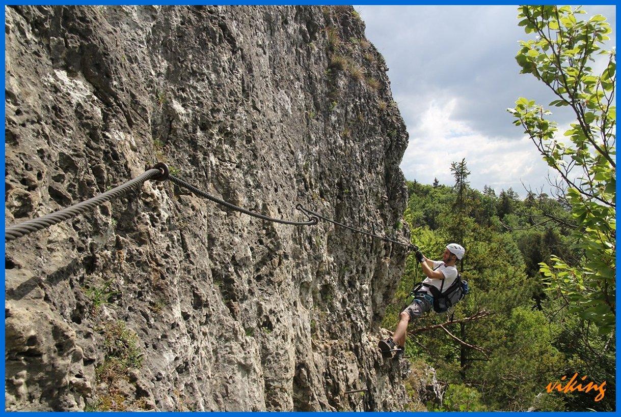Klettersteig Höhenglücksteig : Höhenglücksteig tourendatenbank