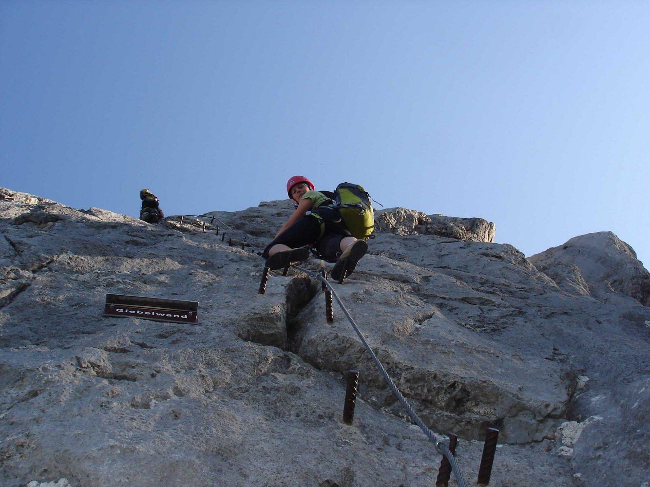 Klettersteig Johann Topo : Anna klettersteig bergsteigen.com