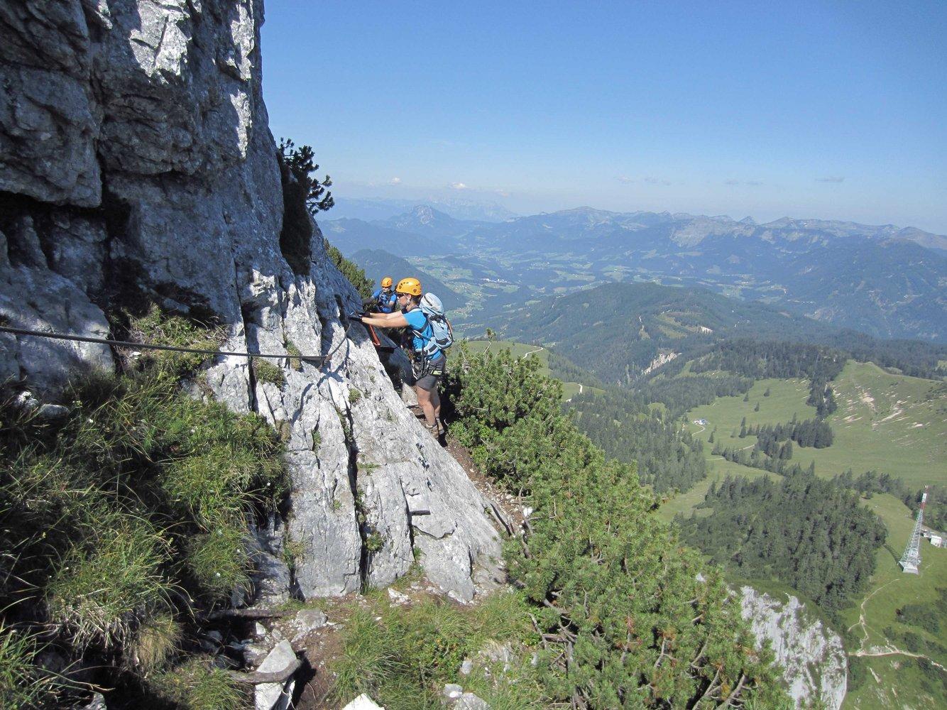 Klettergurt Mit Jelent : Intersport klettersteig gr donnerkogel: 23.6. gablonzer hütte 1550