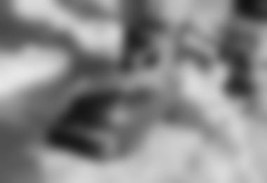 Der lockere Boa-Verschluss (man sieht das dünne Drahtkabel).