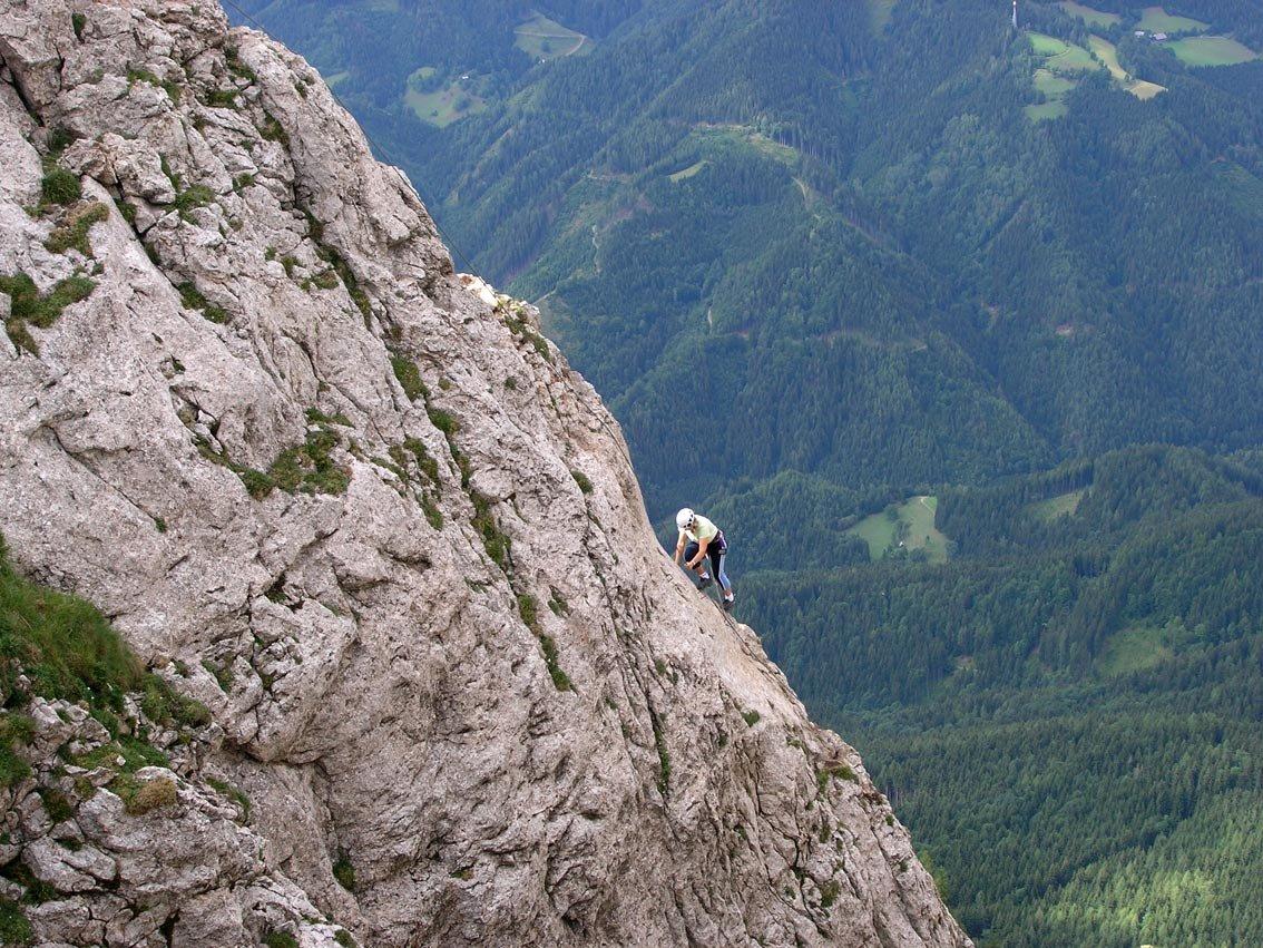 Klettersteig Hochlantsch : Franz scheikl naturfreunde klettersteig hochlantsch bergsteigen