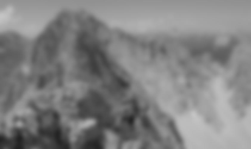 Auf dem Grat bei den Kamin Spitzen