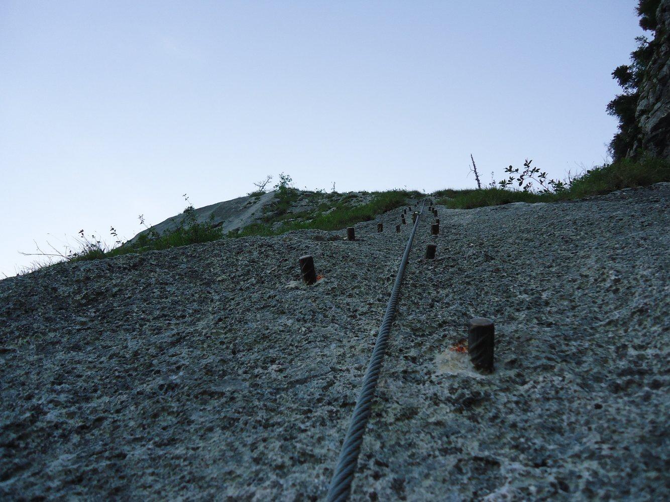 Klettersteig Attersee : Geführter attersee klettersteig salzburg adventures