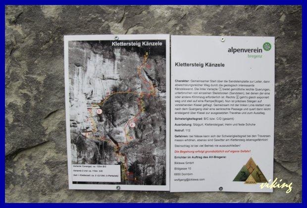 Klettersteig Känzele : Känzele klettersteig bergsteigen