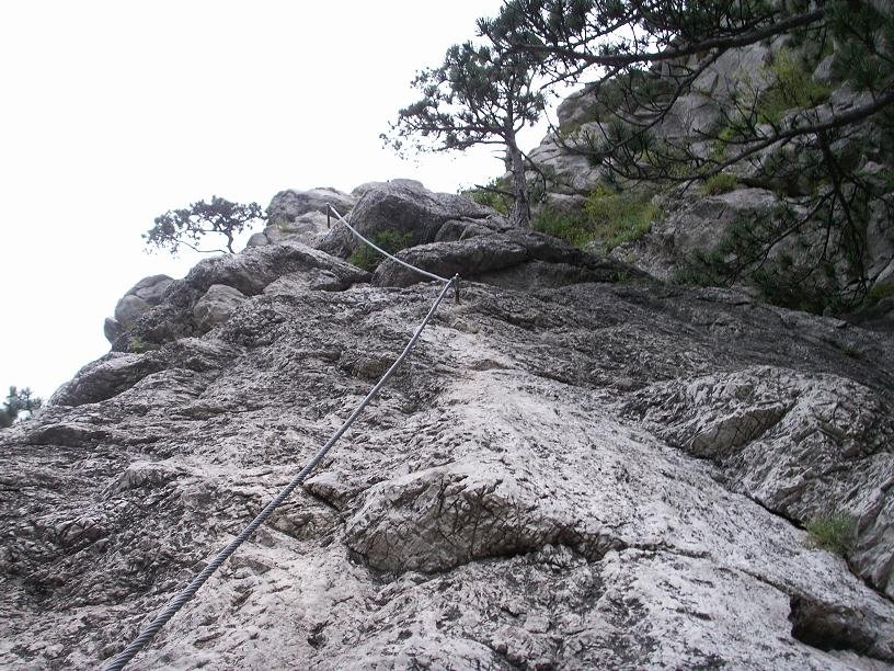 Mödlinger Klettersteig : Mödlinger klettersteig bergsteigen