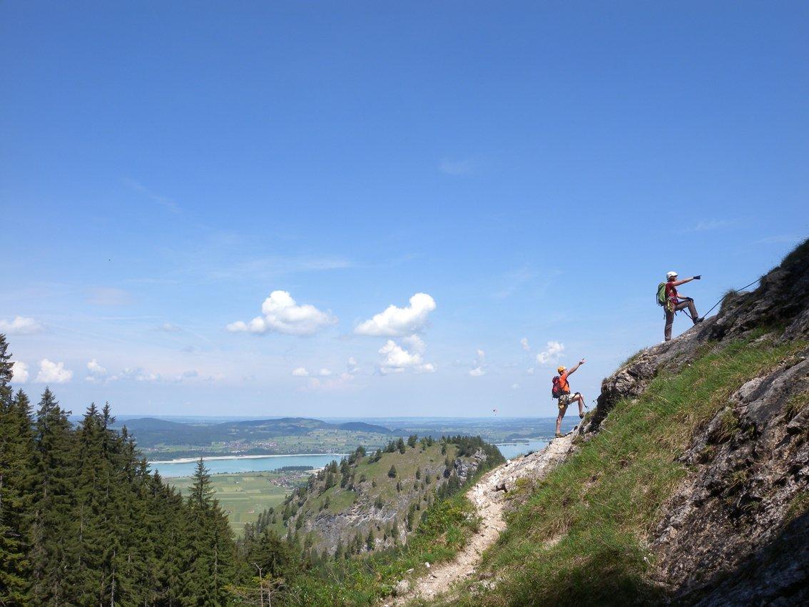 Klettersteig Gelbe Wand : Klettersteige für anfänger bei outdoor magazin