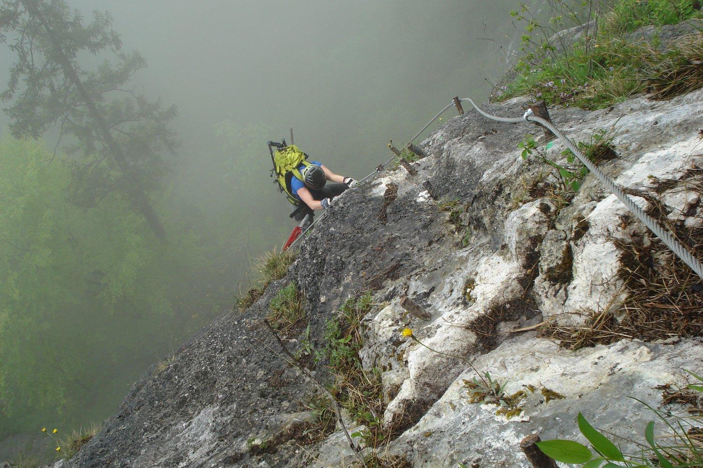Klettersteig Hallstatt : Klettersteige herbert wolf bergführer