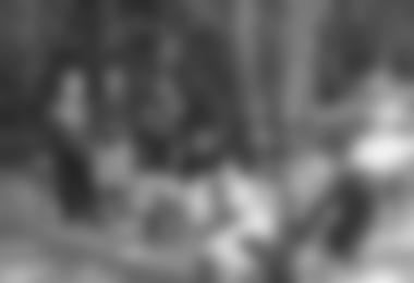 Die Hubers während einer Trainingspause. Ganz rechts mit weißem Haar: Tom Frost, Erstbegeher der Salathe Wall am El Cap © Heinz Wurzer