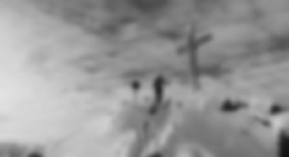 Das Gipfelkreuz des Gaiskogels, 2820 m