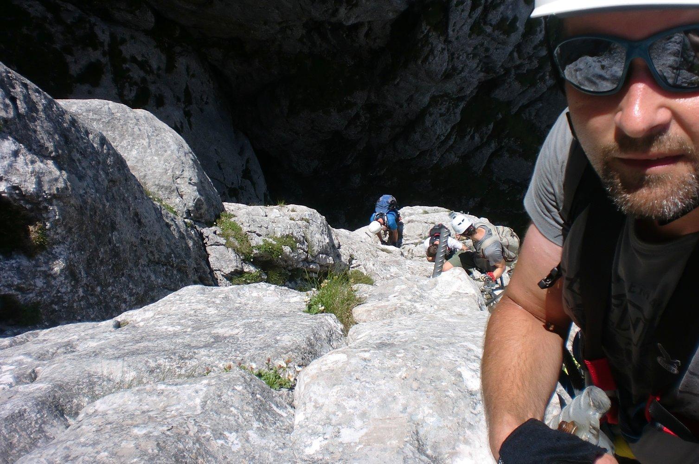 Klettersteig Traunstein : Traunsee klettersteig bergsteigen.com