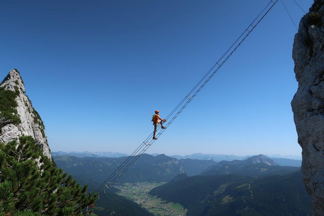 Klettersteig Austria : Intersport klettersteig bergsteigen