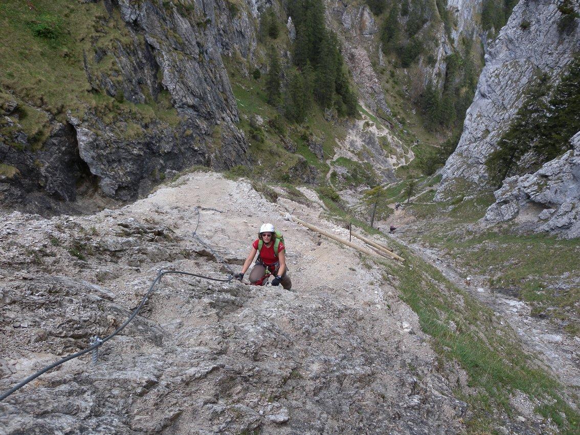 Klettersteig Gelbe Wand : Tegelbergsteig klettersteig tegelberg bergsteigen