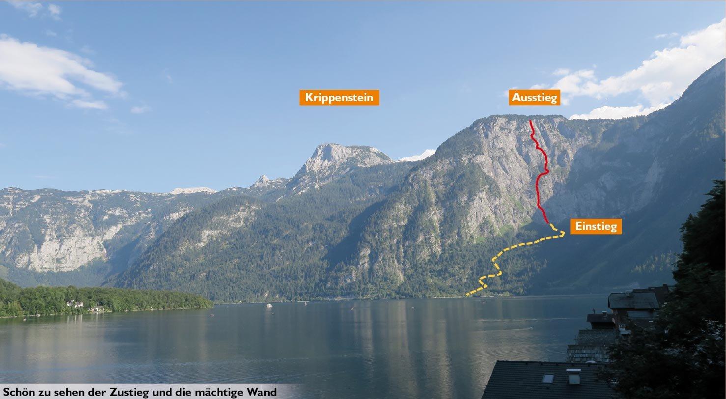 Klettersteig Zauchensee : Pidinger klettersteig auf den hochstaufen