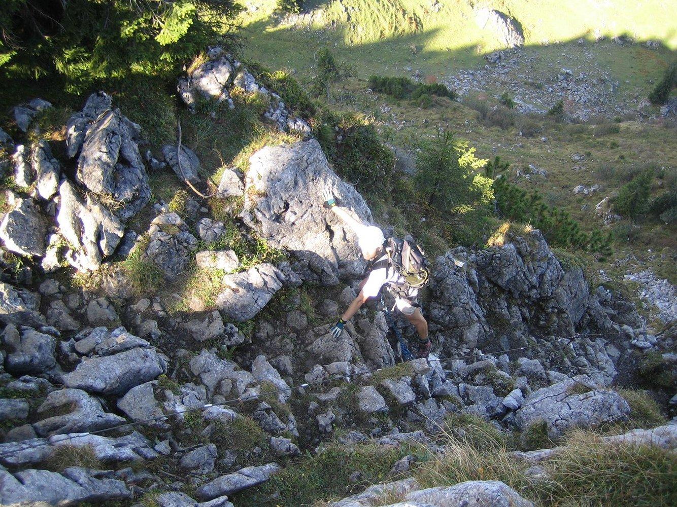 Klettersteig Immenstadt : Besler klettersteig bergsteigen