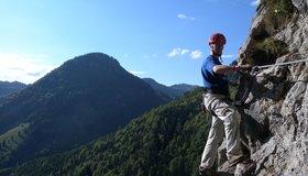 Klettersteig Chiemgau : Bergkameraden klettersteig bergsteigen.com