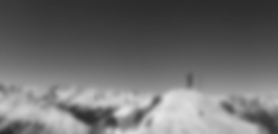 Panorama wie im Bilderbuch auf dem Gipfel.