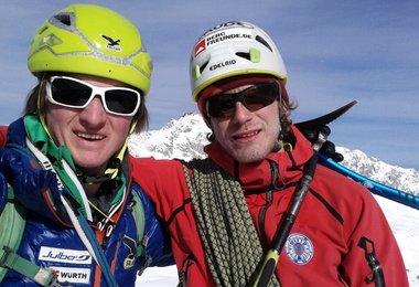 Michi Wohlleben und Fritz Miller (c) Wohlleben