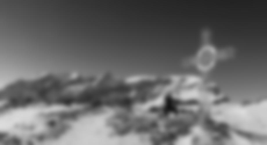 Auf dem Gipfel des Latschberges.