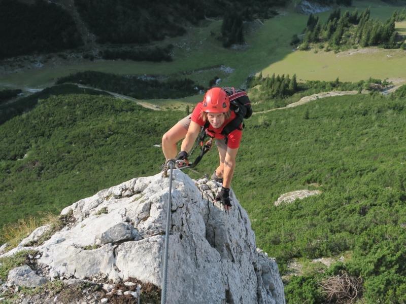 Klettersteig Ybbstaler Alpen : Heli kraft klettersteig bergsteigen