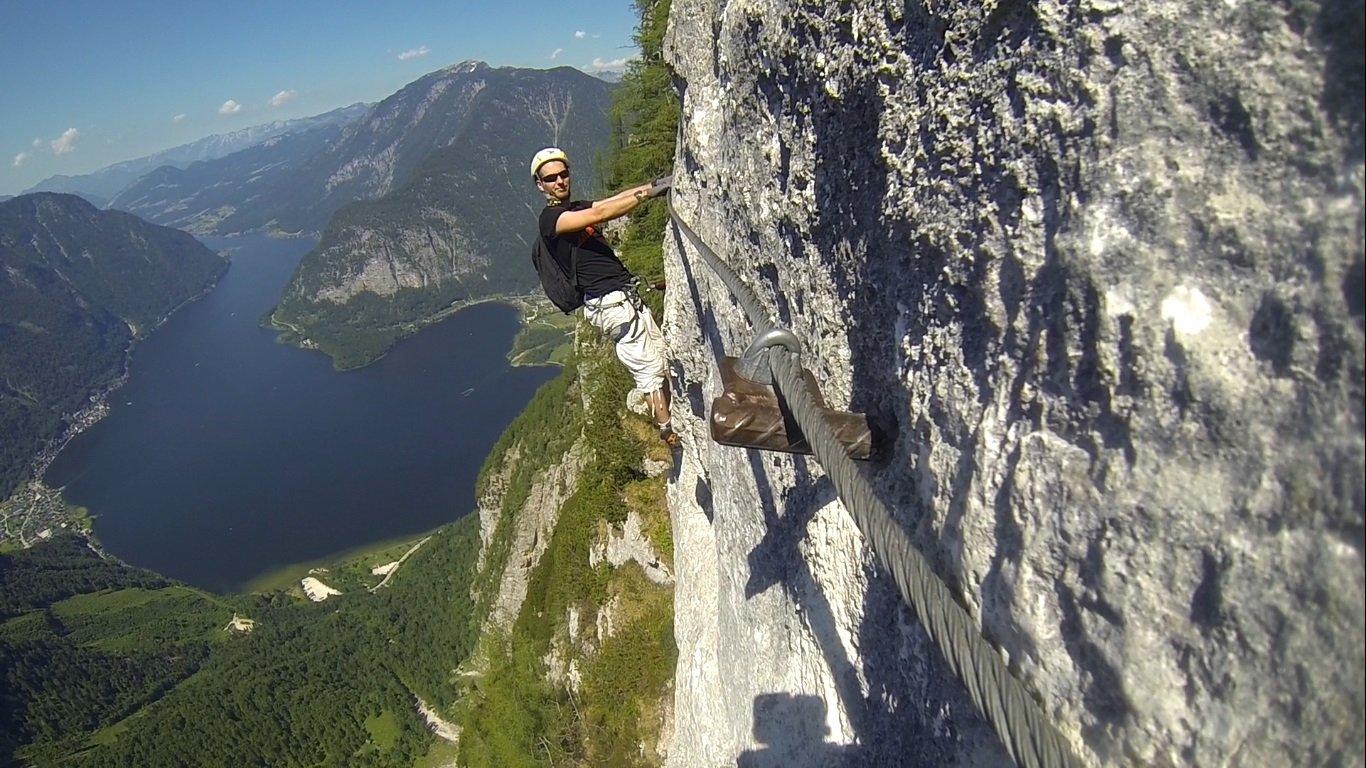 Klettersteig Seewand : Seewand klettersteig bergsteigen.com