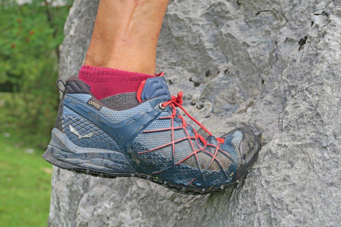 Salewa Klettergurt Test : Test wildfire gtx salewa bergsteigen