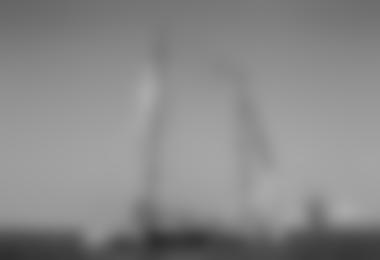Weltweit Erste Highline zwischen 2 Ocean Race Segelbooten in Abu Dhabi © Ainhoa Sanchez/Volvo Ocean Race
