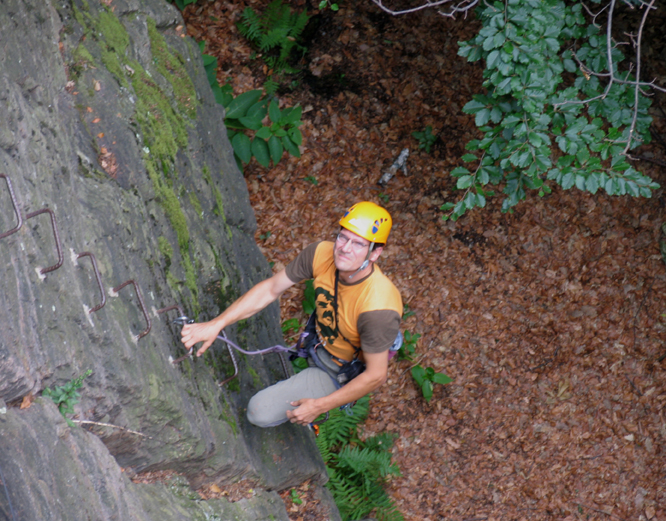 Klettersteig Eitweg : Klettersteige hotrocks bad gams bergsteigen