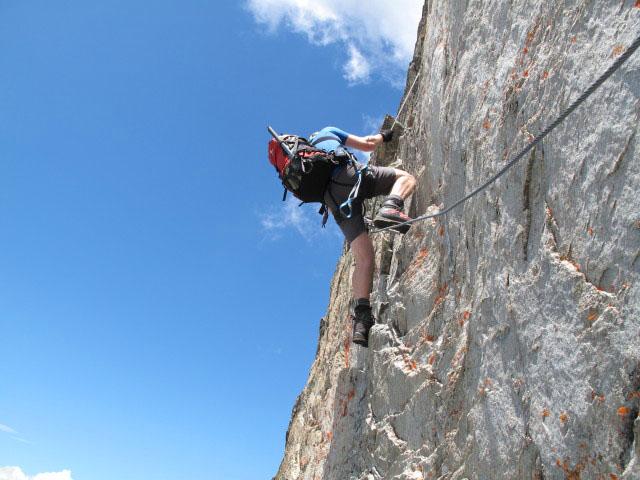 Klettersteig Y : Säuleck klettersteig bergsteigen.com