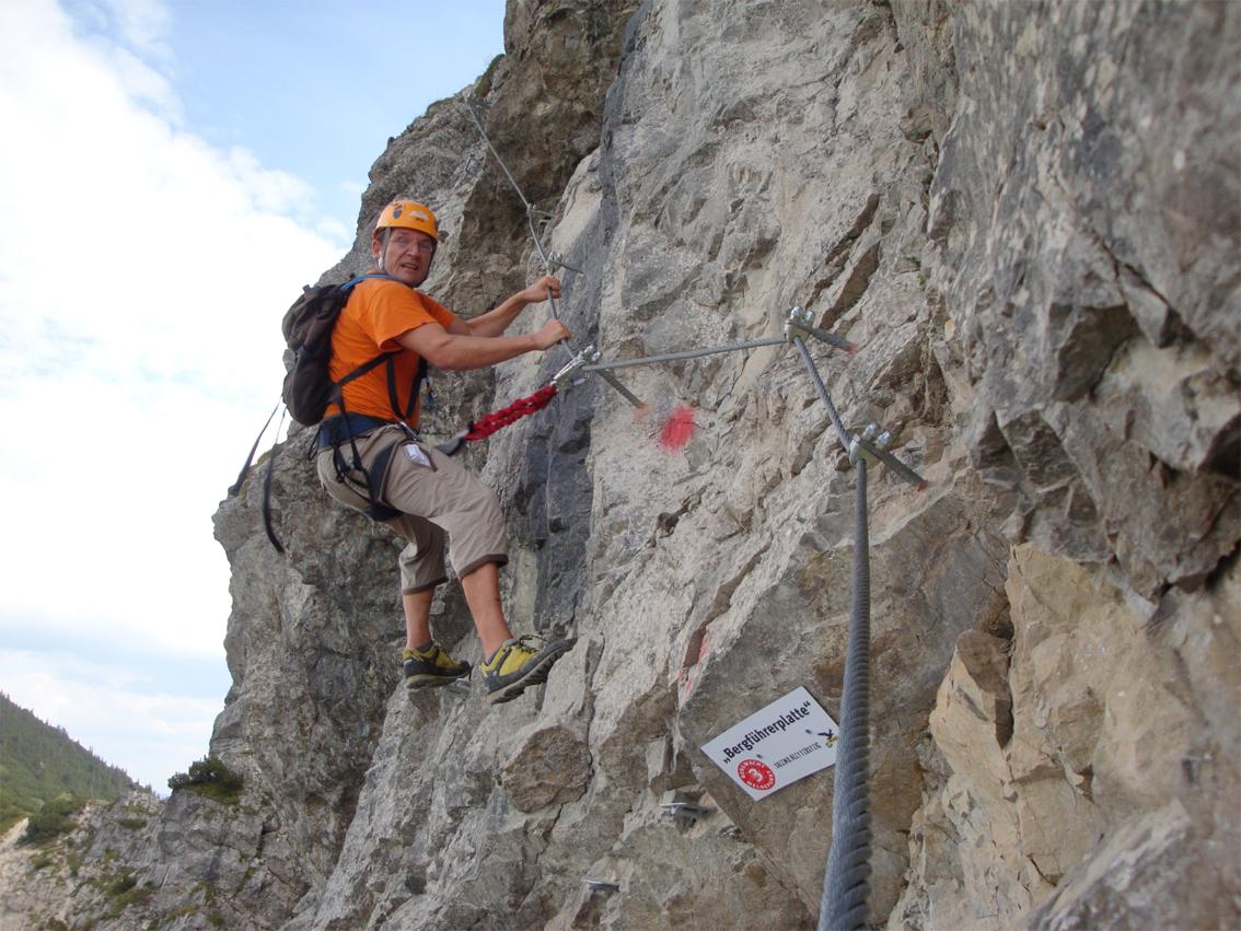 Klettersteig Oberjoch : Salewa klettersteig bergsteigen