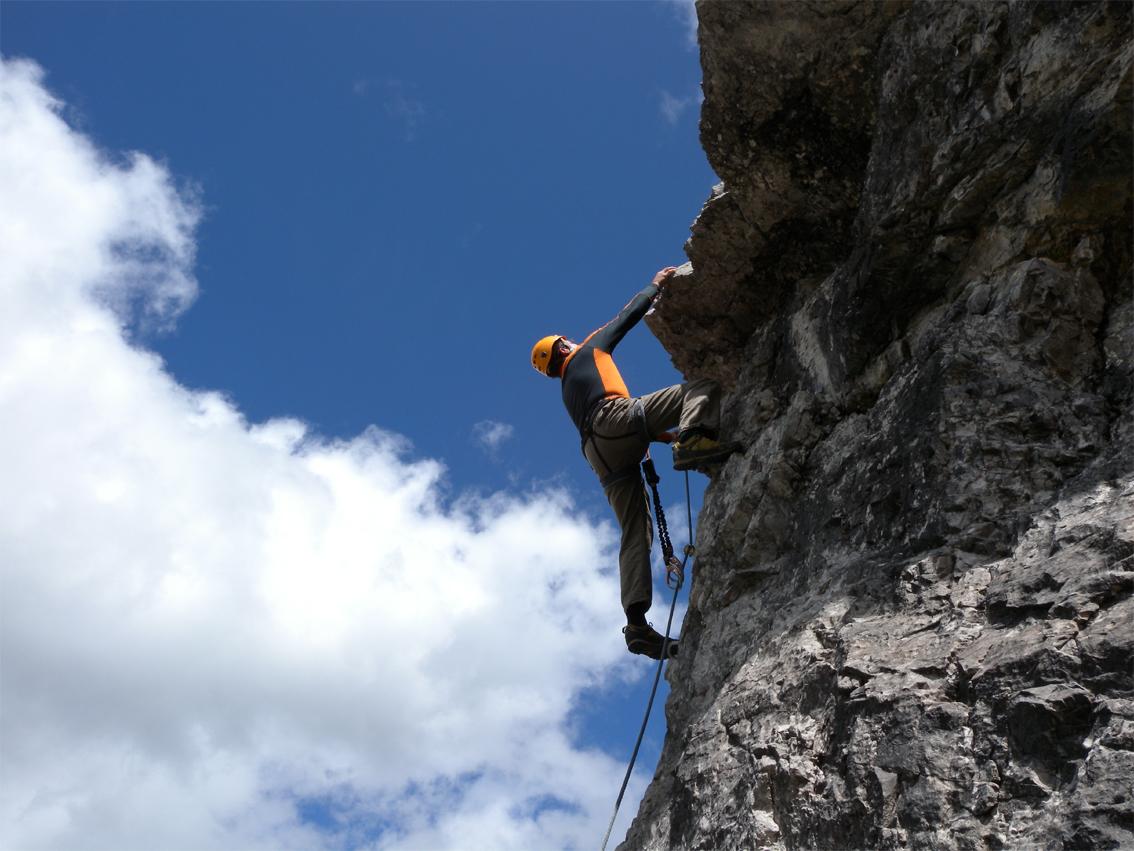Klettersteig Set Gebraucht : Klettersteig lachenspitze nordwand bergsteigen