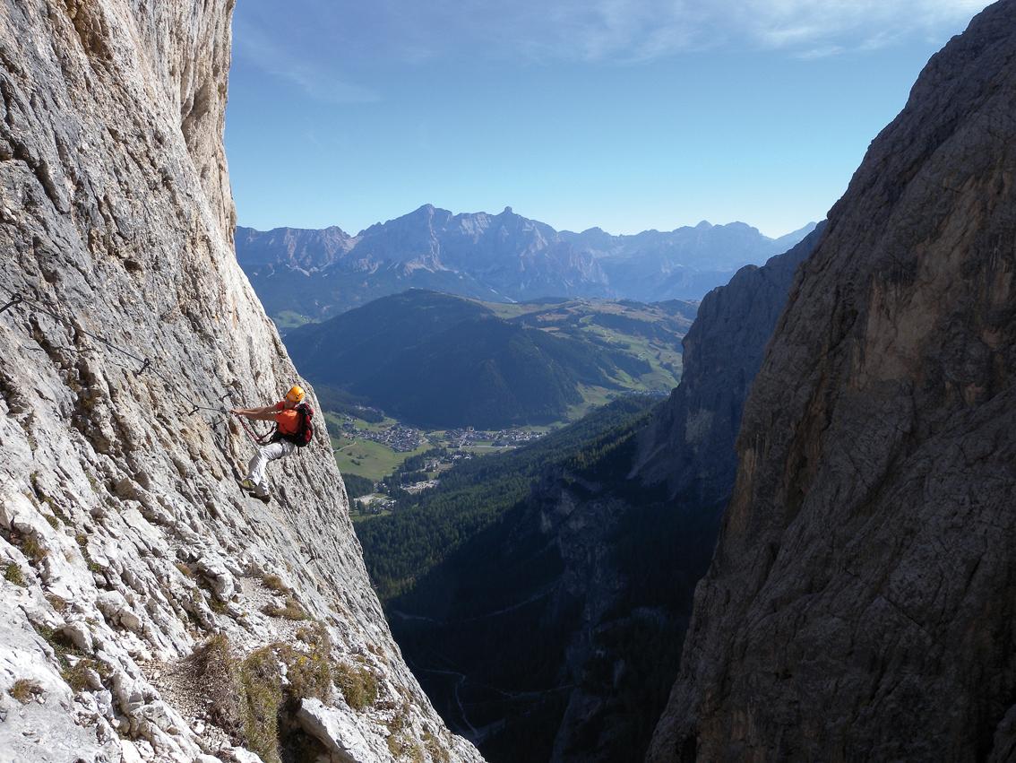 Klettersteig Grade : Pisciadu klettersteig sella gruppe bergsteigen