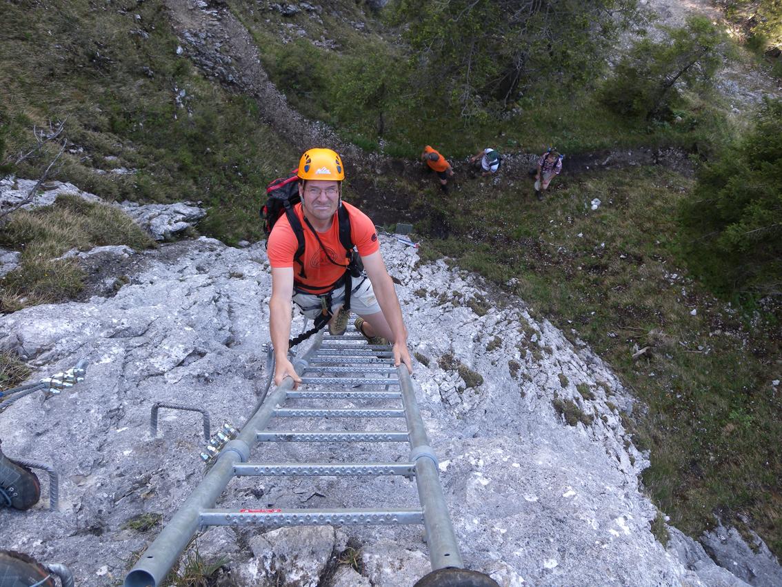 Klettersteig Germany : Tegelbergsteig klettersteig tegelberg bergsteigen.com