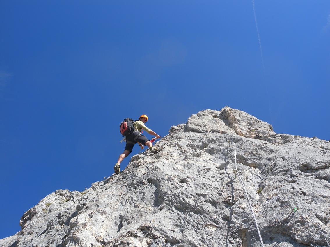 K U00f6llenspitze Klettersteig