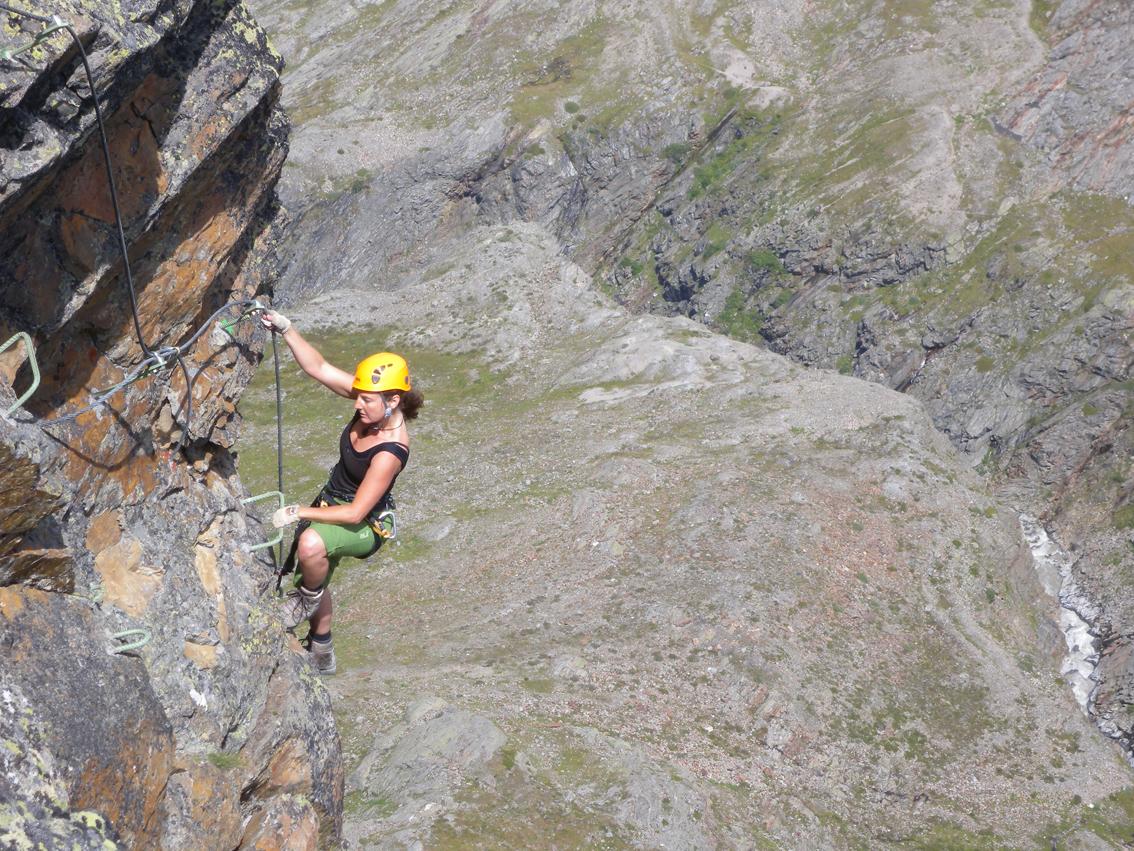 Klettersteig Obergurgl : Schwärzenkamm klettersteig bergsteigen