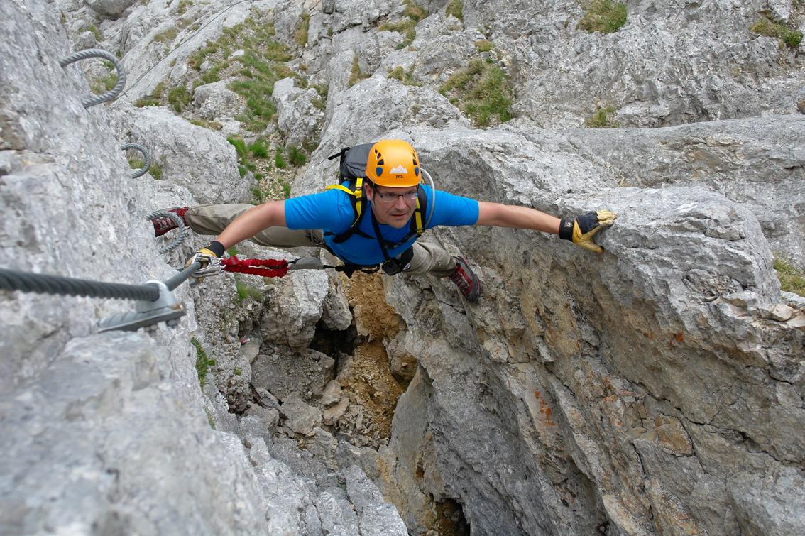 Klettersteig Austria : Austria klettersteig sinabell bergsteigen