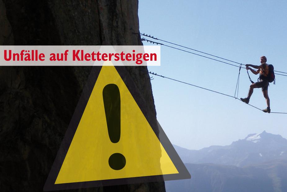 Klettersteig Unfall : Unfälle auf klettersteigen bergsteigen