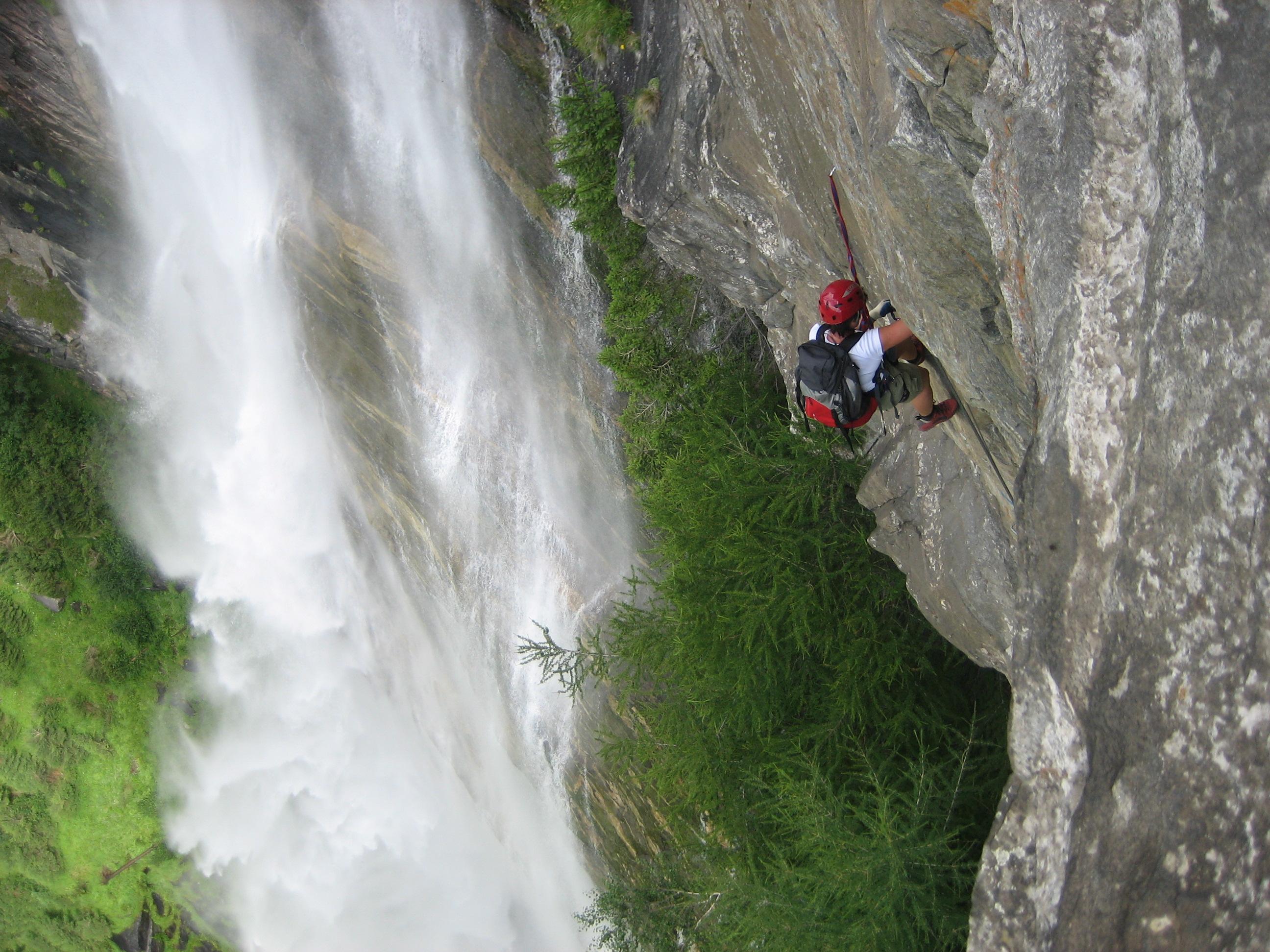Klettersteig Fallbach : Fallbach klettersteig bergsteigen.com