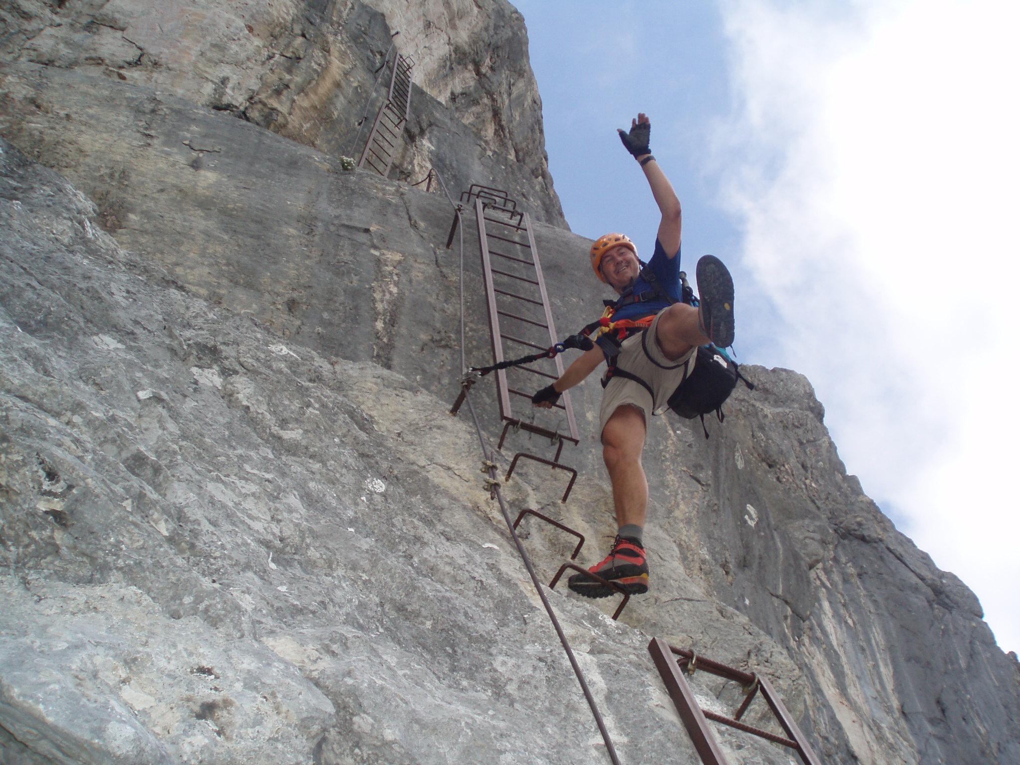 Klettersteig Oberösterreich : Bert rinesch klettersteig bergsteigen